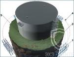 Способ монтажа протектора марки ПРМ на резервуар
